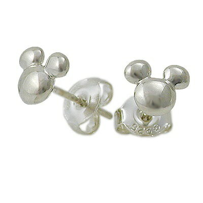 ディズニー Disney Disney Accessory ディズニーアクセサリー シルバー ピアス ホワイト 20代 30代 彼女 レディース disney zone