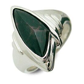 SPACE LAB スペースラボ シルバー リング 指輪 ブラッドストーン ホワイト 彼氏 メンズクリスマス 12月