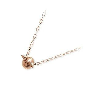 天使の卵 ピンクゴールド ネックレス シンプル ピンク 彼女 レディース 人気 ブランド