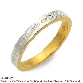 THE KISS Disney シルバー リング 指輪 婚約指輪 結婚指輪 エンゲージリング ダイヤモンド 彼女 彼氏 レディース メンズ ユニセックス 誕生日プレゼント 記念日 ギフトラッピング ザキッス ザキス ザ・キッス ディズニー Disneyzone プーさん 送料無料クリスマス 12月