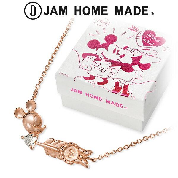送料無料 JAM HOME MADE Disney シルバー ネックレス ハート 20代 30代 彼女 レディース 女性 誕生日プレゼント 記念日 ギフトラッピング ジャムホームメイド ディズニー Disneyzone ミッキーマウス