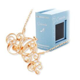 JAM HOME MADE Disney ピンクゴールド ネックレス 彼女 レディース 女性 誕生日プレゼント 記念日 ギフトラッピング ジャムホームメイド ディズニー Disneyzone シンデレラ プリンセス 送料無料
