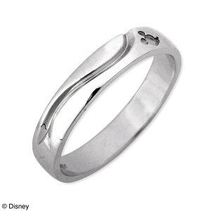 Disney シルバー リング 指輪 婚約指輪 結婚指輪 エンゲージリング 彼氏 メンズ 誕生日プレゼント 記念日 ギフトラッピング ディズニー Disneyzone