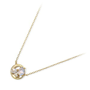【VA ヴァンドーム青山】 VA Vendome Aoyama K10 ゴールド ネックレス シンプル ダイヤモンド 彼女 レディース 女性 誕生日プレゼント 記念日 ギフトラッピング 送料無料