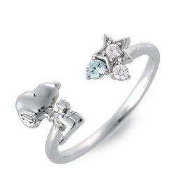 SNOOPY シルバー リング 指輪 婚約指輪 結婚指輪 エンゲージリング 彼女 レディース 女性 誕生日プレゼント 記念日 ギフトラッピング スヌーピー 送料無料