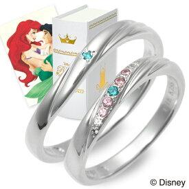 THE KISS Disney シルバー ペアリング 婚約指輪 結婚指輪 エンゲージリング 彼女 彼氏 レディース メンズ カップル ペア 誕生日プレゼント 記念日 ギフトラッピング ザキッス ザキス ザ・キッス ディズニー Disneyzone 送料無料 ブランド