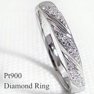Jwl I Ring Platinum Diamond Ring Pt900 Women S Birthday Gifts