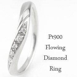 ダイヤモンドリング プラチナリング 天然ダイヤモンド ピンキーリング 指輪 Pt900 記念日 ギフト 贈り物
