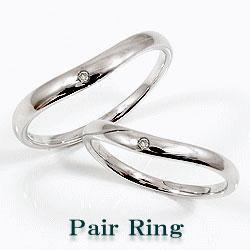 プラチナ ダイヤ ペアリング 結婚指輪 マリッジリング プラチナ900 天然ダイヤモンド Pt900 ギフト