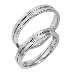 結婚指輪 プラチナ クロス ペアリング Pt900 マリッジリング 十字架 2本セット ペア 文字入れ 刻印 可能 婚約 結婚式 ブライダル ウエディング クリスマス プレゼント ギフト
