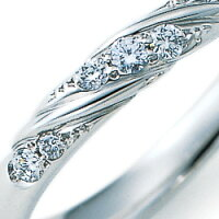 《NINARICCI》Pt900(プラチナ)ダイヤモンドリング