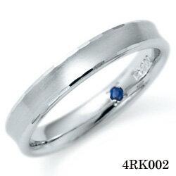 【割引クーポンが使える】 結婚指輪 プラチナ900 サファイア マリッジリング 4RK002 ロマンティックブルー 【ポイント2倍】 プラチナ結婚指輪 ペア結婚指輪 刻印無料結婚指輪 送料無料結婚指輪 シンプル結婚指輪 ブライダル結婚指輪