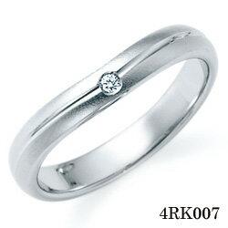 【割引クーポンが使える】 結婚指輪 プラチナ900 サファイア マリッジリング 4RK007 ロマンティックブルー 【ポイント2倍】 プラチナ結婚指輪 ペア結婚指輪 刻印無料結婚指輪 送料無料結婚指輪 シンプル結婚指輪 ブライダル結婚指輪