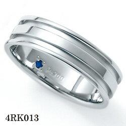 【割引クーポンが使える】 結婚指輪 プラチナ900 サファイア マリッジリング 4RK013 ロマンティックブルー 【ポイント2倍】 プラチナ結婚指輪 ペア結婚指輪 刻印無料結婚指輪 送料無料結婚指輪 シンプル結婚指輪 ブライダル結婚指輪