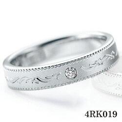 【割引クーポンが使える】 結婚指輪 プラチナ900 サファイア ダイヤモンド マリッジリング 4RK019 ロマンティックブルー 【ポイント2倍】 プラチナ結婚指輪 ペア結婚指輪 刻印無料結婚指輪 送料無料結婚指輪 シンプル結婚指輪 ブライダル結婚指輪