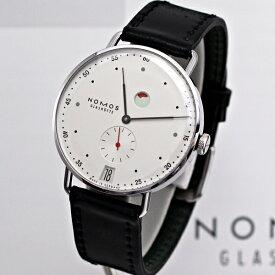 ノモスは安心の正規販売店で NOMOS メトロ  デイト パワーリザーブ 手巻き 37mm METRO 日本正規品 MT1D4W2