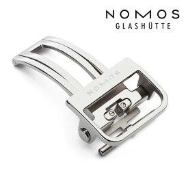 ノモス NOMOS 純正Dバックル 16mm/18mm ステンレス プッシュ式 正規輸入品