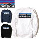 【ゆうパケット対応】 patagonia パタゴニア メンズ ロングスリーブ P-6ロゴ レスポンシビリティー Tシャツ Patagonia Men's Long-Slee…