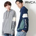RVCA ルーカ RVCA PERRY HOOD スリーブロゴ 袖ロゴ パーカー オーバーサイズ ロゴ [Lot/AI042-012] ユニセックス California サーフ お…