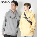 RVCA ルーカ BIG RVCA PULL ビッグロゴ パーカー 裏起毛 長袖 プリント ロゴ [Lot/AI042-014] 2018 秋冬 California サーフ おしゃれ …