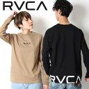 RVCA ルーカ バックプリント ロンT ロングスリーブ Tシャツ テープ BACK RVCA L/S 2018 HOLIDAY 長袖 プリント [Lot/AJ041-061,AJ043-0…