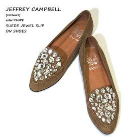 【 60%OFF 半額 SALE セール 】 JEFFREY CAMPBELL スリッポン レディース JEFFREY CAMPBELL(ジェフリーキャンベル) SUEDE JEWEL SLIP ON SHOES (スエードジュエルスリッポンシューズ)(125669)