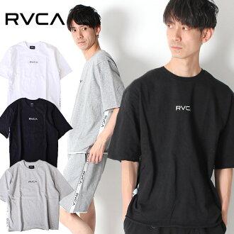 RVCA卢卡斯潮湿的T恤SMALL RVCA SWEAT TEE[Lot/AJ041-003]BIC轮廓短袖超过尺寸cut越位带子标识顶端人2019新作品装置冲浪糖果舵礼物成套的rinkukode