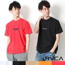 【2019新作】RVCA ルーカ トップス PATCH RVCA SS TEE 半袖 Tシャツ ロゴ [Lot/AJ041-231] ブランド ロゴT ユニセックス アメカジ 西海…
