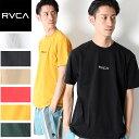 【2019新作】RVCA ルーカ SMALL LOGO SS Tシャツ 半袖 ロゴ [Lot/AJ041-241] 半袖Tシャツ ブランド プリント ロゴT ロゴT ユニセックス…