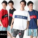 [50%OFF]RVCA ルーカ DEALER SS Tシャツ Tシャツ 半袖 ロゴ [Lot/AJ041-311] メッシュ ロゴT スポーツ アクティブ サーフ ストリート …