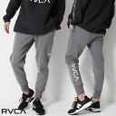 【 送料無料 】 RVCA ルーカ SPORT SIDELINE SWEAT PANTS サイドライン スウェットパンツ [Lot/AJ041-720] ユニセックス サーフ おしゃ…