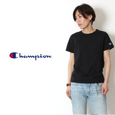 ChampionチャンピオンTシャツレディースロゴワンポイント半袖クルーネック丸首ホワイト/ブラック/ネイビー/グレー[Lot/CW-M321]