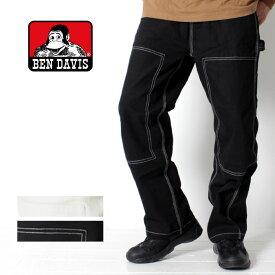 BEN DAVIS ベンデイビス ペインターパンツ [Lot/G-9780023] メンズ ペインターパンツ ワイドパンツ ワーク カジュアル パンツ 大きいサイズ 大きい アウトドア ゆったり ホワイト ブラック セットアップ