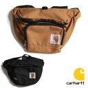 【国内正規販売店】Carhartt カーハート WAIST PACK ウエストパック [Lot/89150701] ボディバッグ ポーチ ミニショルダー ツールバッグ…