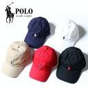 【正規取扱店】 POLO RALPH LAUREN ポロ ラルフローレン ストラップバック キャップ Cotton Classic Hat [Lot/32355248900] キャップ …