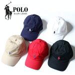 【正規取扱店】POLORALPHLAURENポロラルフローレンストラップバックキャップCottonClassicHat[Lot/32355248900]キャップ帽子ユニセックスベースボールキャップシンプルワンポイント