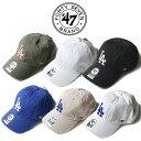 【正規取扱店】47brand フォーティーセブンブランド Dodgers '47 CLEAN UP [Lot/B-RGW12GWS-B-NLRGW12GWS-B-RGTTP12GWS] 帽子 キャップ…