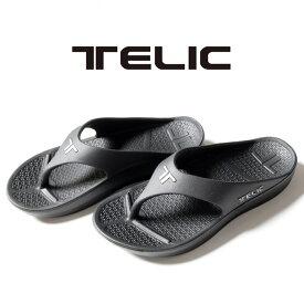 【正規取扱店】TELIC LOGO IMPACT FLIPFLOP テリック ロゴ インパクト フリップフロップ サンダル 夏 アウトドア メンズ レディース ユニセックス プール 海 室内履き ビーチサンダル リカバリーシューズ シンプル スポーティー