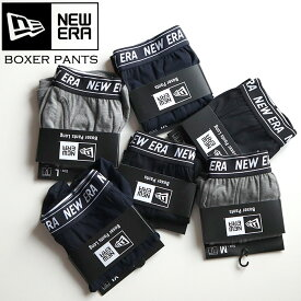 【正規取扱店】NEW ERA ニューエラ BOXER PANTS NEWERA ボクサーパンツ ユニセックス インナー [Lot/12341527,12341531,12326105,12341528,12341529,12341530] 下着 パンツ ボクサー
