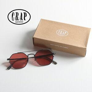 【国内正規品】CRAP eyewear クラップアイウェア サングラス The Jazz Safari [Lot/JAZZS724PG-20SS] ケース付き 眼鏡 めがね 紫外線 UVカット カラーレンズ 男性 女性 海 アウトドア バカンス