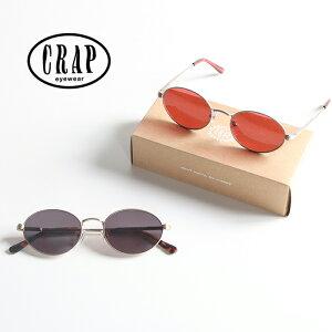 【国内正規品】CRAP eyewear クラップアイウェア サングラス The New Riddim [Lot/NEWRI724GG20SS-NEWRI912DR20SS] ケース付き 眼鏡 めがね 紫外線 UVカット カラーレンズ 男性 女性 アウトドア バカンス