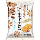 金吾堂製菓 燻製風味のアーモンドせんべい 13枚入