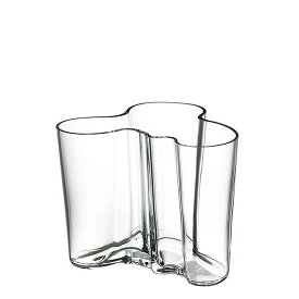 イッタラ(iittala)・アアルト(Aalto) 花瓶(クリア) 12cm 単品 食器 洋食器 北欧 ブランド