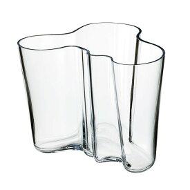 イッタラ(iittala)・アアルト(Aalto) 花瓶(クリア) 16cm 単品 食器 洋食器 北欧 ブランド