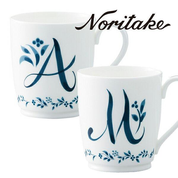 【ポイント10倍】 ノリタケ マグカップ アルファベットマグ コレクション 父の日プレゼント 父の日ギフト