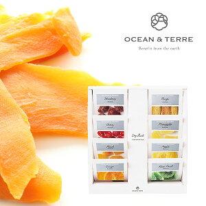 OCEAN&TERRE オーシャンテール ドライフルーツ セットB ギフトセット のし ラッピング メッセージカード 手提げ袋 無料 おしゃれギフト