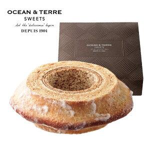 OCEAN&TERRE オーシャンテール スイーツ バームクーヘン おしゃれなギフト 内祝い お返し プレゼント 手土産 のし ラッピング メッセージカード 手提げ袋 無料 バター生地 シュガー