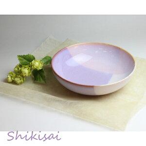 食器 おしゃれ 萩焼 Shikisai ボウルL pink×purple(木箱) 和食器食器セット/和食器/ギフト/新生活/日本製/萩焼/食器 オシャレ