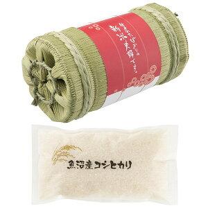 魚沼産コシヒカリ(俵入り)縁起物 のし・包装 対応外商品となります。