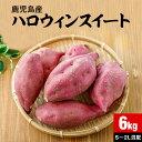 鹿児島産 ハロウィンスイート さつまいも 生芋 6kg 送料無料 国産 料理向け 土付き 焼き芋